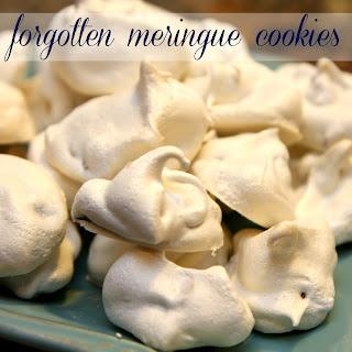 Forgotten Meringue Cookies.