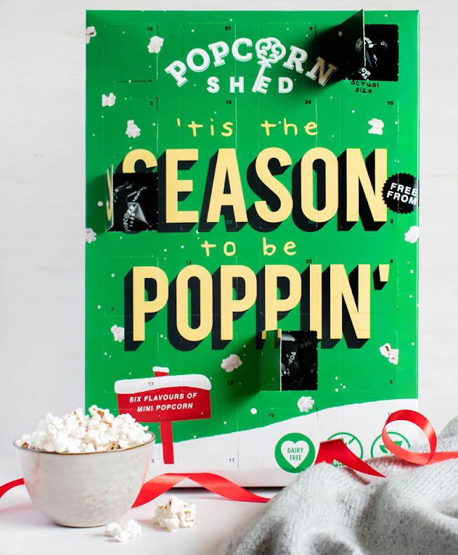 "Popcornkalender Minipopcorn ""Season to be Poppin'"" 2021 – Popcorn Shed"