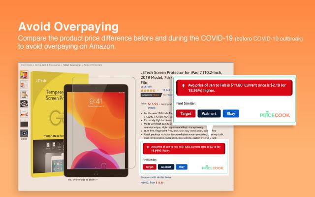 PriceCook - Amazon Price Comparison