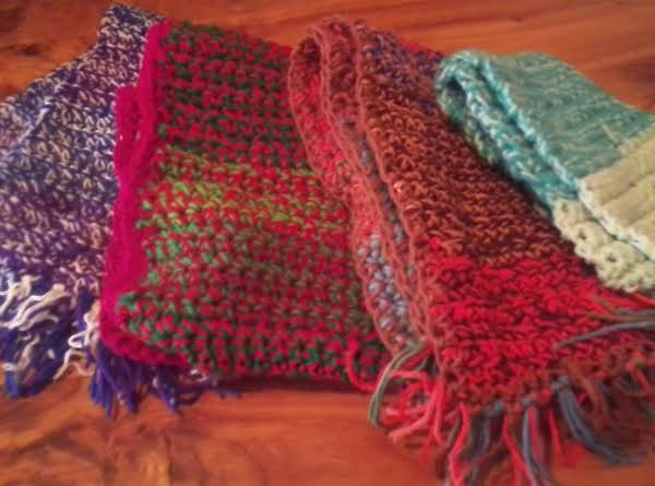 More Scarves I Made In Last Two Weeks