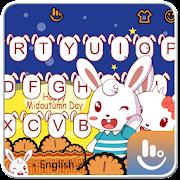 Cute Mid Autumn Keyboard Theme