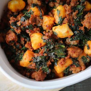 Italian Spicy Sausage & Kale Gnocchi Casserole Recipe