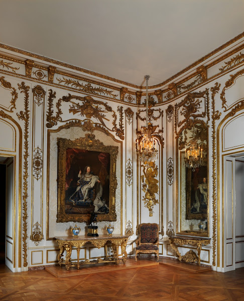 Photo: Alcove, Paris by Jean-François Roumier (c. 1720-25 with later additions)