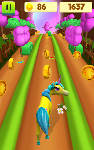 Unicorn Run - Runner Games 2020 filehippodl screenshot 12