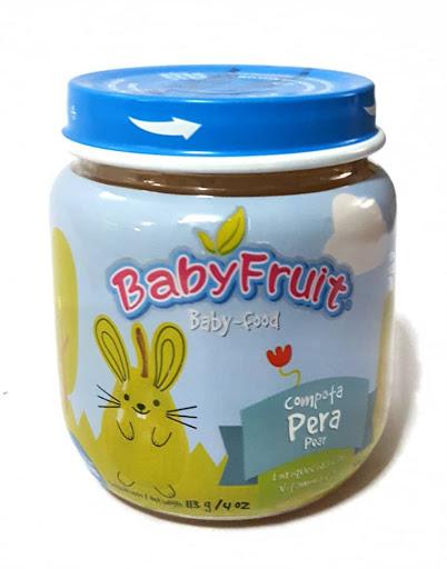 compota babyfruit pera 113 gr