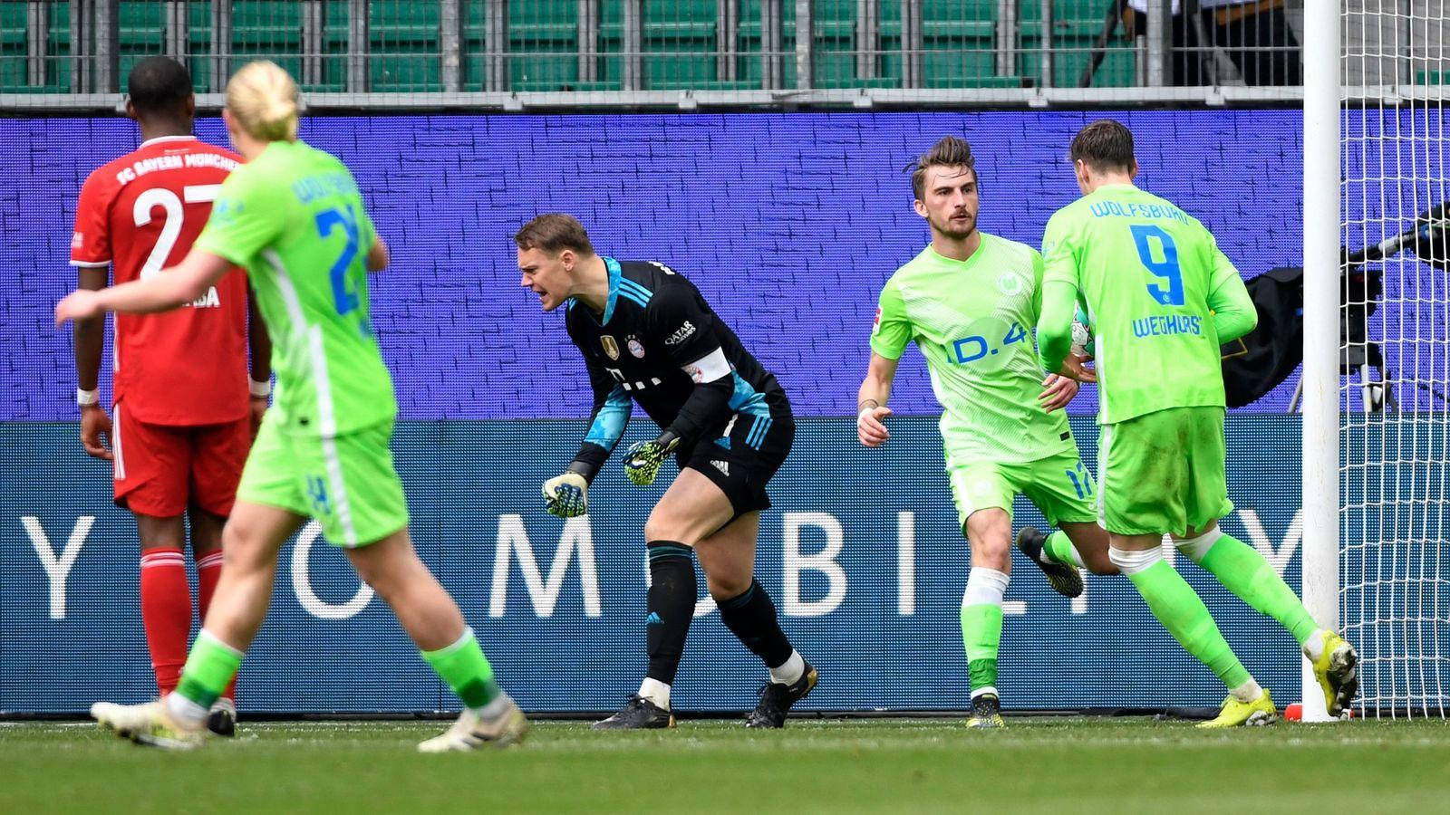Wolfsburg đang không có được kết quả tốt gần đây