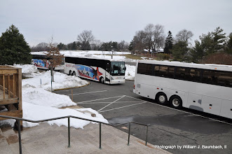 Photo: Grand Masters arriving from their hotel at the George Washington Masonic Memorial