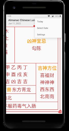Almanac Chinese Lunar Calendar screenshot 3