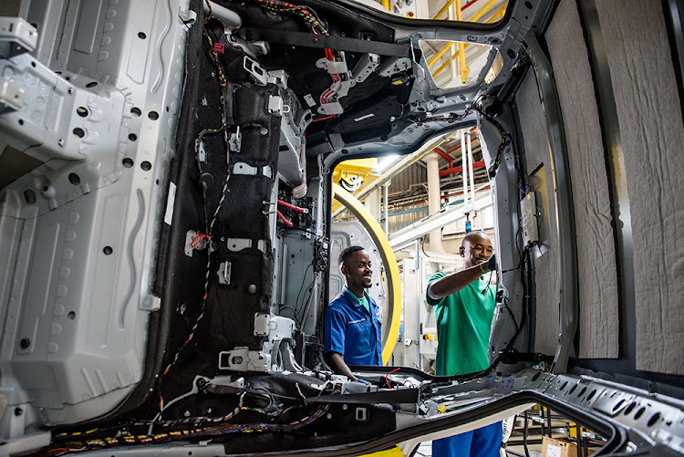 The BMW Group SA family is looking with confidence to the future as Plant Rosslyn now produces the all-new BMW X3. Picture: SUPPLIED/BMW GROUP SA