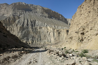 Photo: Descente jusqu'à la Kali Gandaki