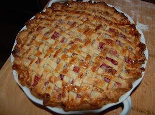 Rhubarb Custard Pie Recipe