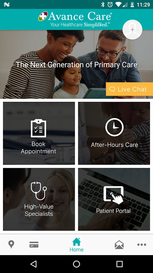 Avance Care Healthcare Simplified- screenshot