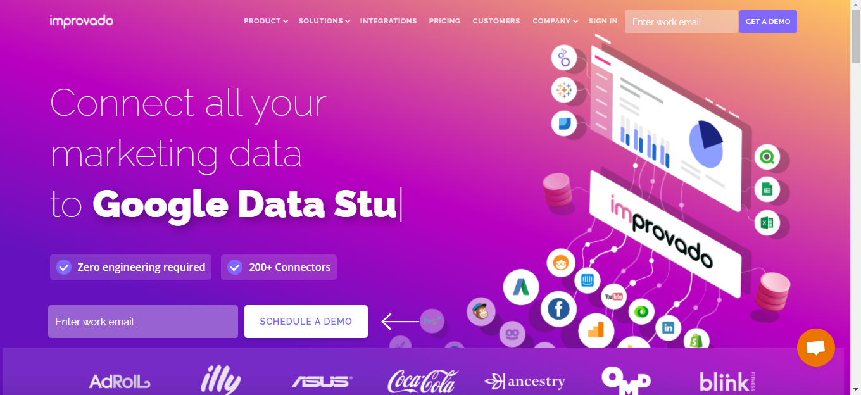Improvado is a Database Management Software