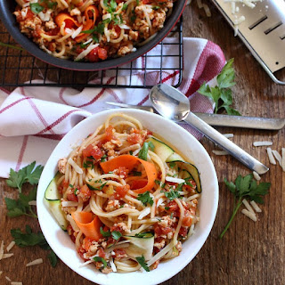 Clean Eating Turkey Bolognese.