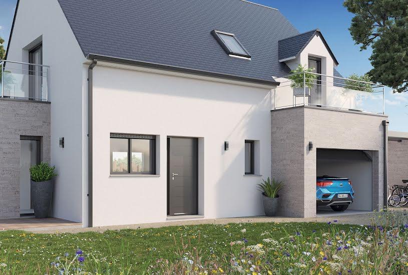 Vente Terrain + Maison - Terrain : 365m² - Maison : 95m² à Saint-Herblon (44150)