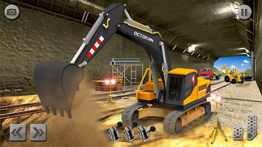 Sand Excavator Truck Driving Rescue Simulator game 5.0 screenshots 24