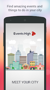 Events High - Meet Your City!- screenshot thumbnail