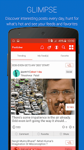 Posticker- Opinion Polling App- screenshot thumbnail