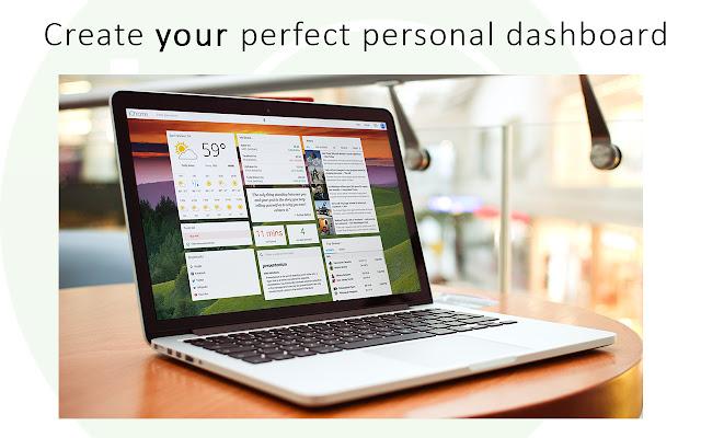 ProductivityTab — Custom New Tab Dashboard