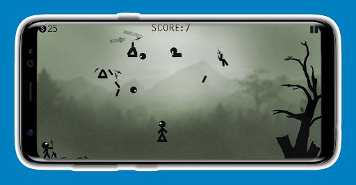 Knife Attacks: Stickman Battle, Fight Warriors  captures d'écran 2
