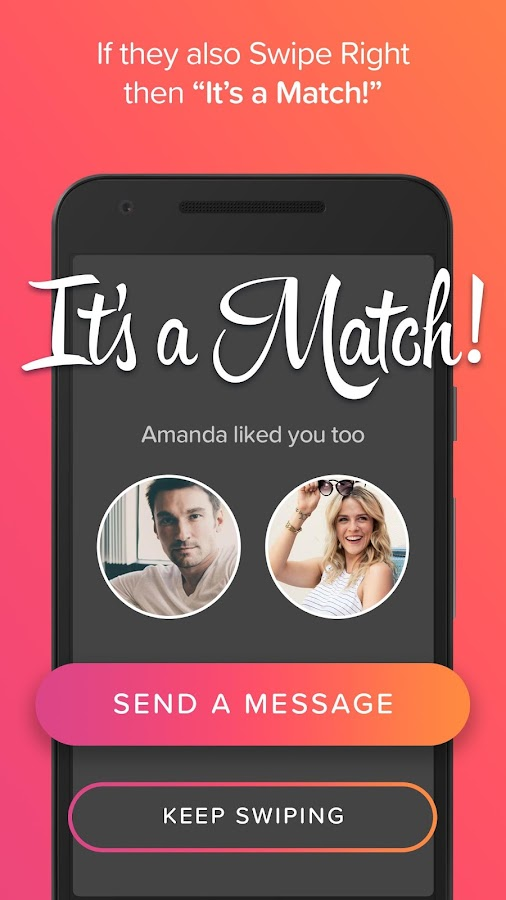 Screenshots of Tinder for iPhone