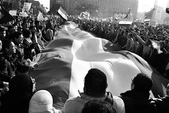 Photo: A wonderful scene in Tahrir Square.