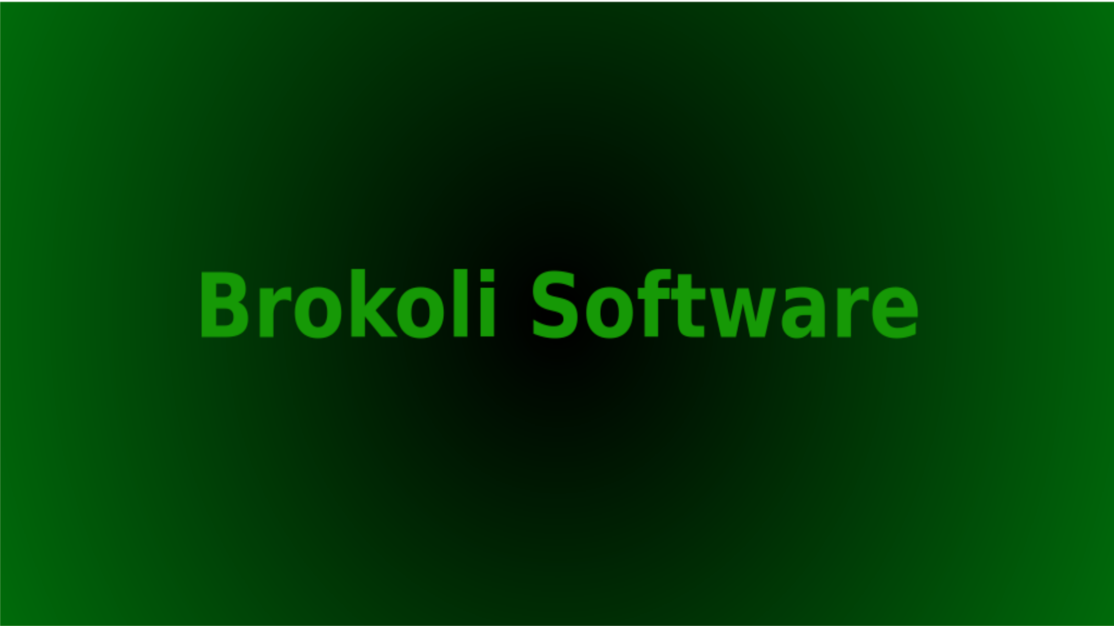 Brokoli Software