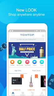 TOMTOP Online Shopping App - náhled