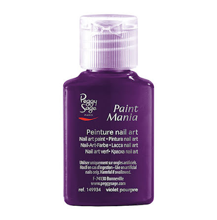 Akrylfärg för nailart violet pourpre 25ml