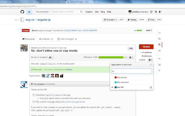 GitHub PR Helper