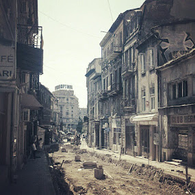 A street once was #streetphotography  #decay  #city #architecture #urbanlandscape by Alex Cruceru - Instagram & Mobile Instagram