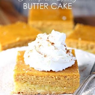 Pumpkin Gooey Butter Cake.