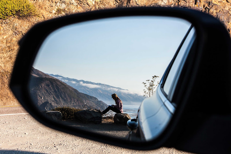 Riflessi on the road di Simone Sartorelli