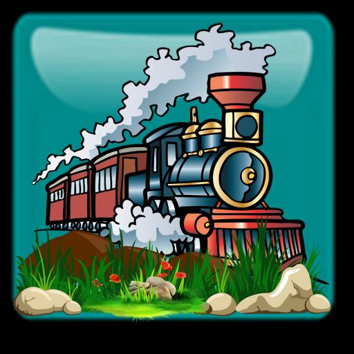 Adventure cute train runner