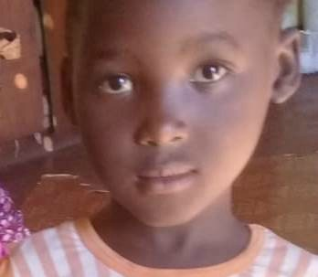 Qobhile Cele, 5, was last seen playing outside her home in the Port Shepstone area on August 29 2019.