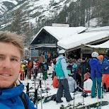 Apres ski lounge in Zermatt, Valais, Switzerland