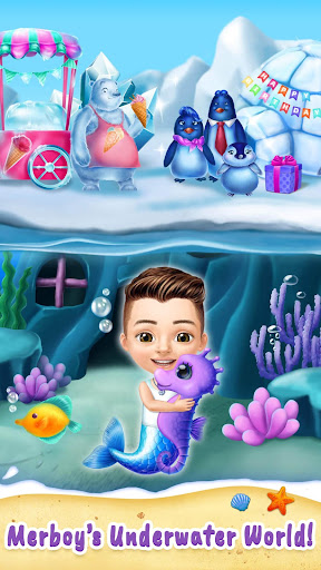 Sweet Baby Girl Mermaid Life - Magical Ocean World 4.0.1 screenshots 6