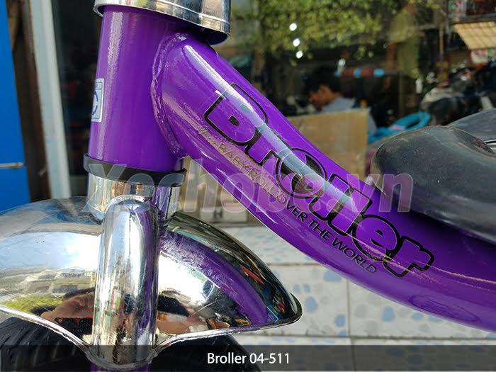 khung xe đạp 3 bánh trẻ em broller
