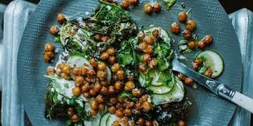 Deconstructed Falafel Salad