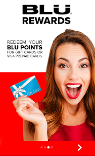 BLU Rewards - náhled