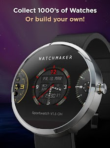 WatchMaker Premium Watch Face v4.0.3