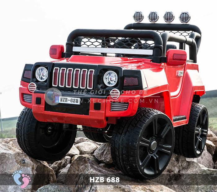 Xe ô tô điện cho bé Jeep HZB-688 8