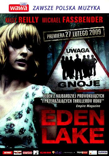 Przód ulotki filmu 'Eden Lake'