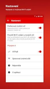 Vodafone Wi-Fi volání - náhled