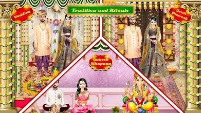 Royal Indian Wedding Girl Arrange Marriage Rituals screenshot thumbnail