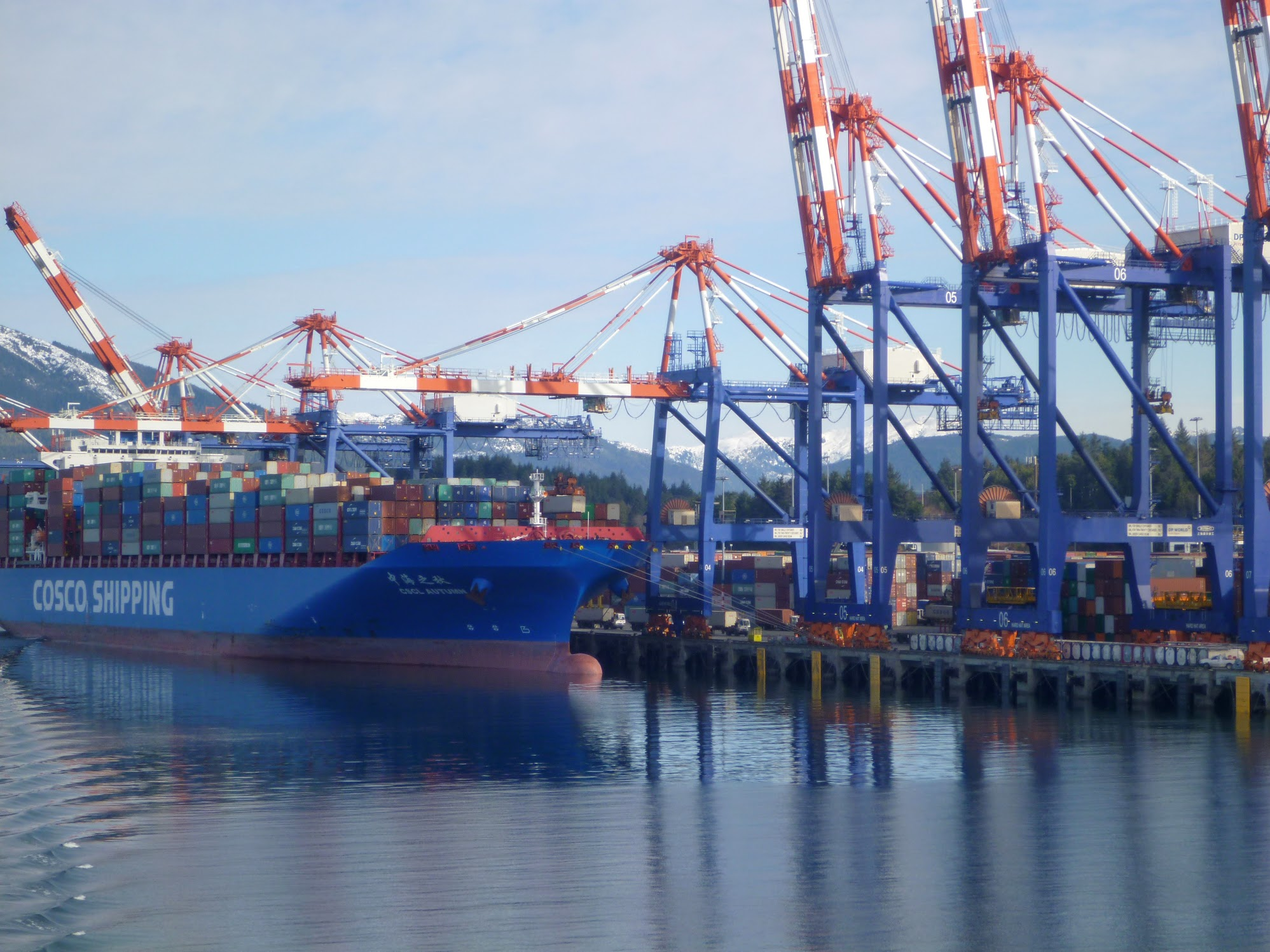 Docks by Prince Rupert.
