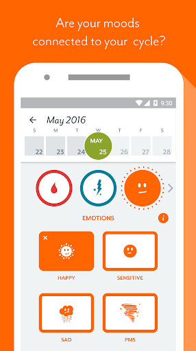 Clue - Period Tracker app (apk) free download for Android/PC/Windows screenshot