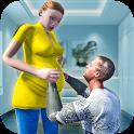 Virtual Pregnant Mom: Happy Family Fun icon