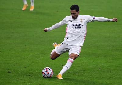 UPDATE : Eden Hazard n'est pas dans le groupe du Real Madrid pour le match face à Liverpool