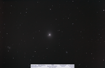Photo: A wonderfully rich field of M49 is Wednesday's Day 52 spring cleaning of the hard drive and another current #VSP image. This was a nice image as I spent the pre-party portion of the show soaking in 31 x 60s unguided shots. I count a good dozen or so galaxies here and am happy with this shot as a half-planned session. oh and i'm back on pace at 1 a day and ready to tackle the remaining 2 current ones before hitting the really old ones this weekend!